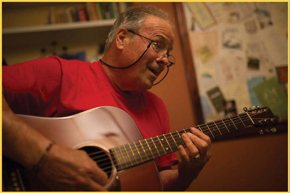 Duke Bardwell Playing Guitar