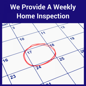 We Provide A Weekly Home Inspection Florida
